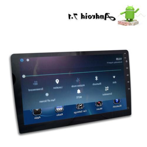 "10.1"" Single DIN Car 7.1 Radio No-DVD WIFI GPS CAMERA"