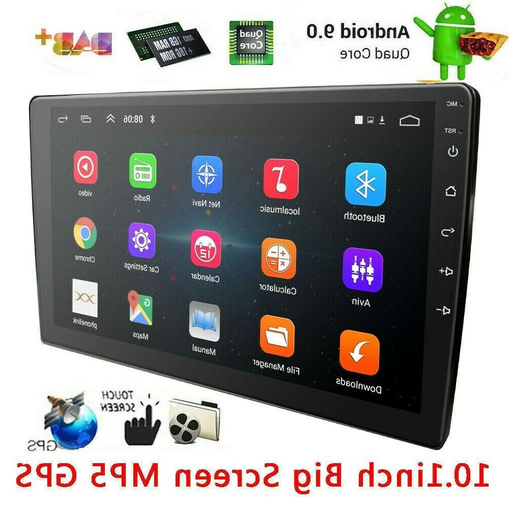 10 inch car stereo touchscreen radio wifi