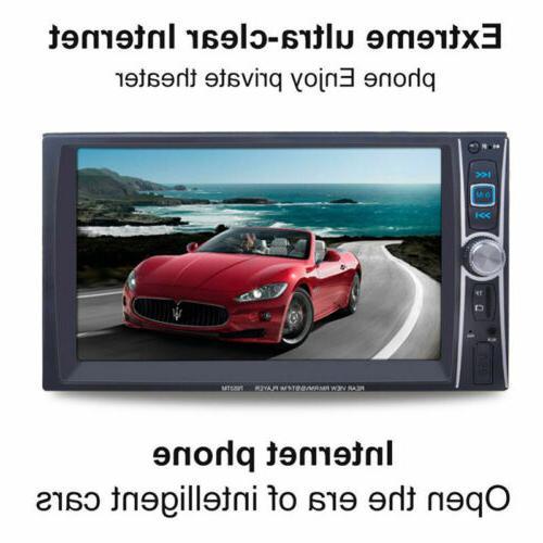 "1080P HD Bluetooth Stereo Radio 7"" HD MP5 FM Player Screen"