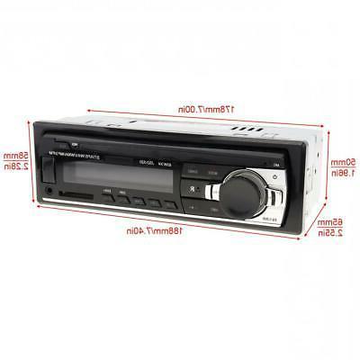 JSD-520 In Dash 12V Bluetooth Car FM Input Audio