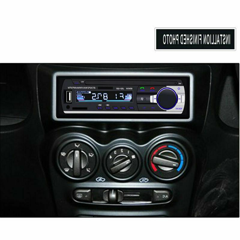 Car FM In Handsfree SD/USB Head Unit DIN