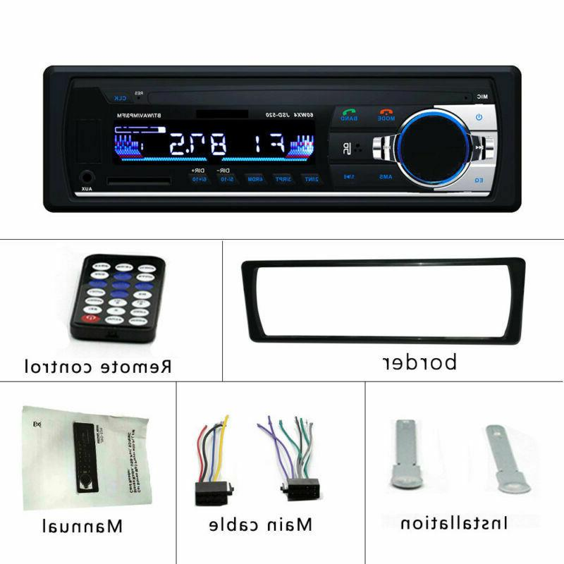 Car Stereo FM SD/USB AUX Unit DIN