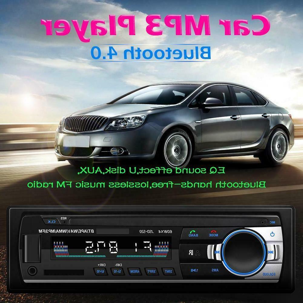 1Din Bluetooth In MP3 FM USB