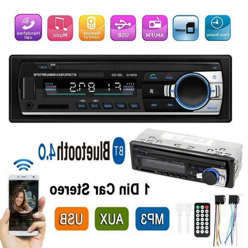 1din bluetooth car stereo in dash audio