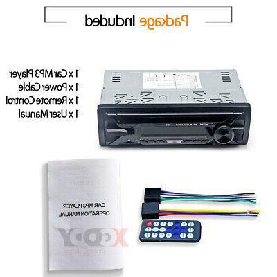 Car Stereo MP3 Bluetooth FM In-dash