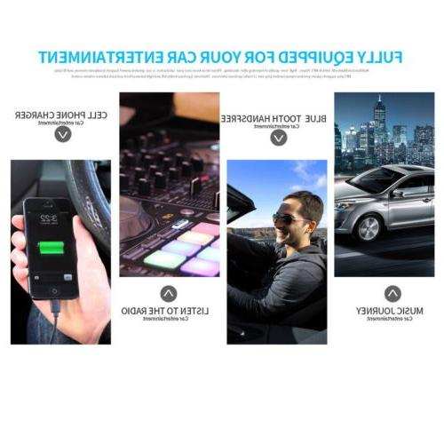 1Din Radio RDS AM MP3 Player Bluetooth Detachable AUX SD