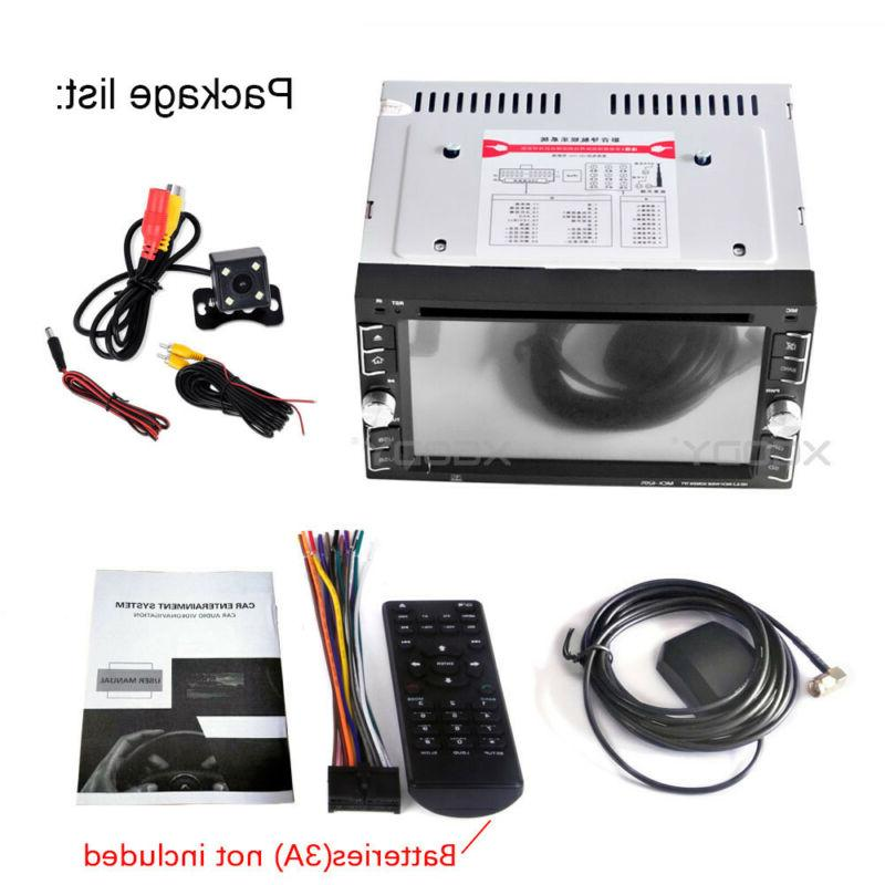 2 Stereo CD GPS Navigation Radio TV FM