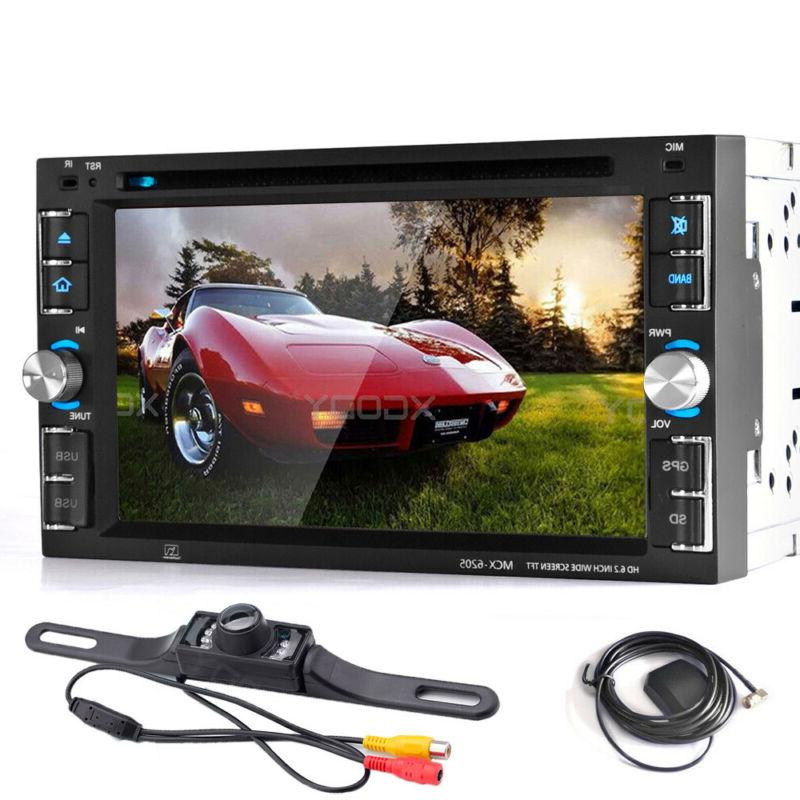2 DIN 6.2 in Car DVD Stereo Radio Head Unit Player with GPS