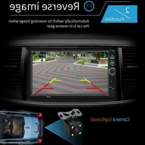2DIN Stereo USB/TF/AUX/Remote Screen