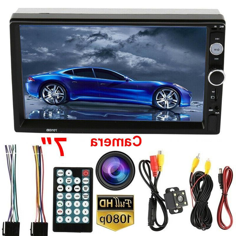 "2 7"" Car Stereo MP5 FM Mirror Link"