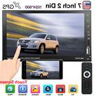 7inch Car Stereo Mp5 Player Touch Screen Bluetooth Radio 2di