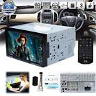 2 DIN Car Multimedia FM Radio DVD CD Player Bluetooth HD 7""