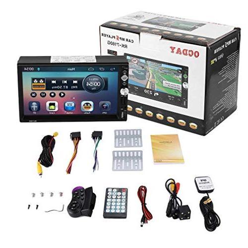 "2 ,7"" Wireless Touch Car MP5 MP3 Player,Mirror Camera/Wireless/FM /AM/TF/ USB/AUX-in"