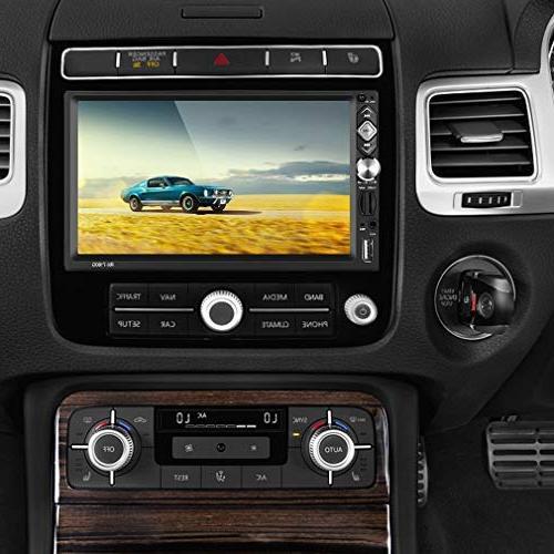"2 Din Car ,7"" Car USB/AUX-in Remote"