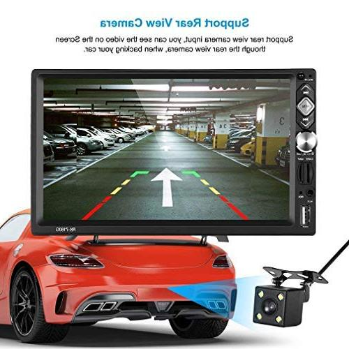 """2 Car Multimedia ,7"""" Car MP3 Player,Mirror /AM/TF/ USB/AUX-in +"""