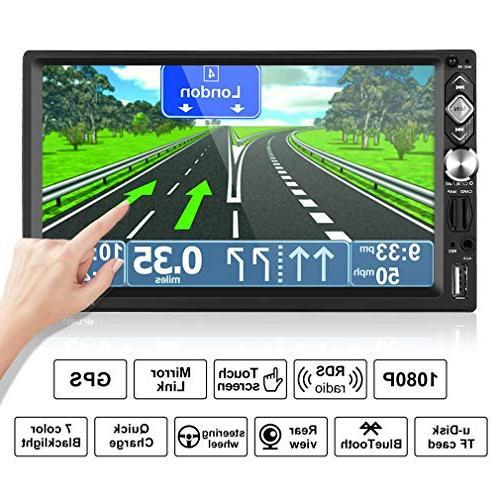 2 din car multimedia wireless
