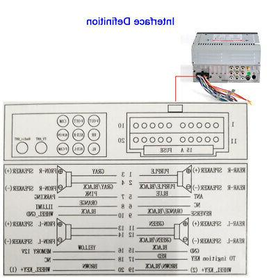 "2 Car Radio Player 6.2"" Touchscreen USB +"