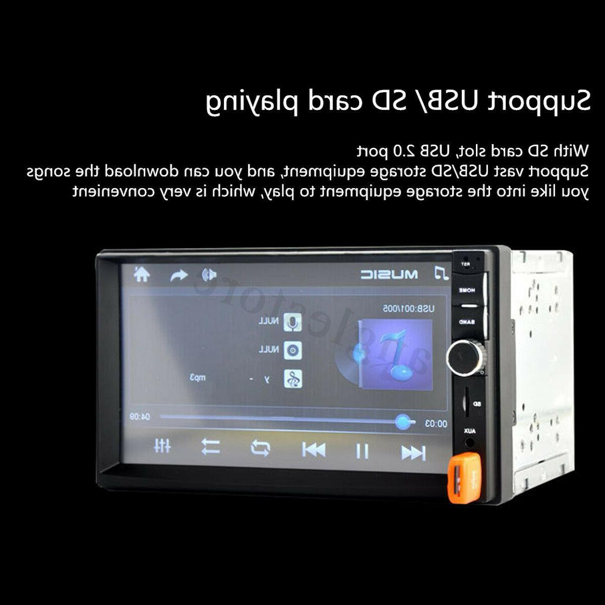 Bluetooth FM Radio HD MP5 Touch + Free Camera