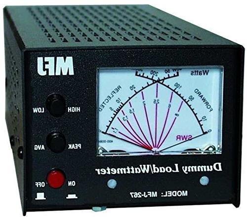 MFJ-267 Dummy load, SWR meter, 1 5kW, 0-650MHz