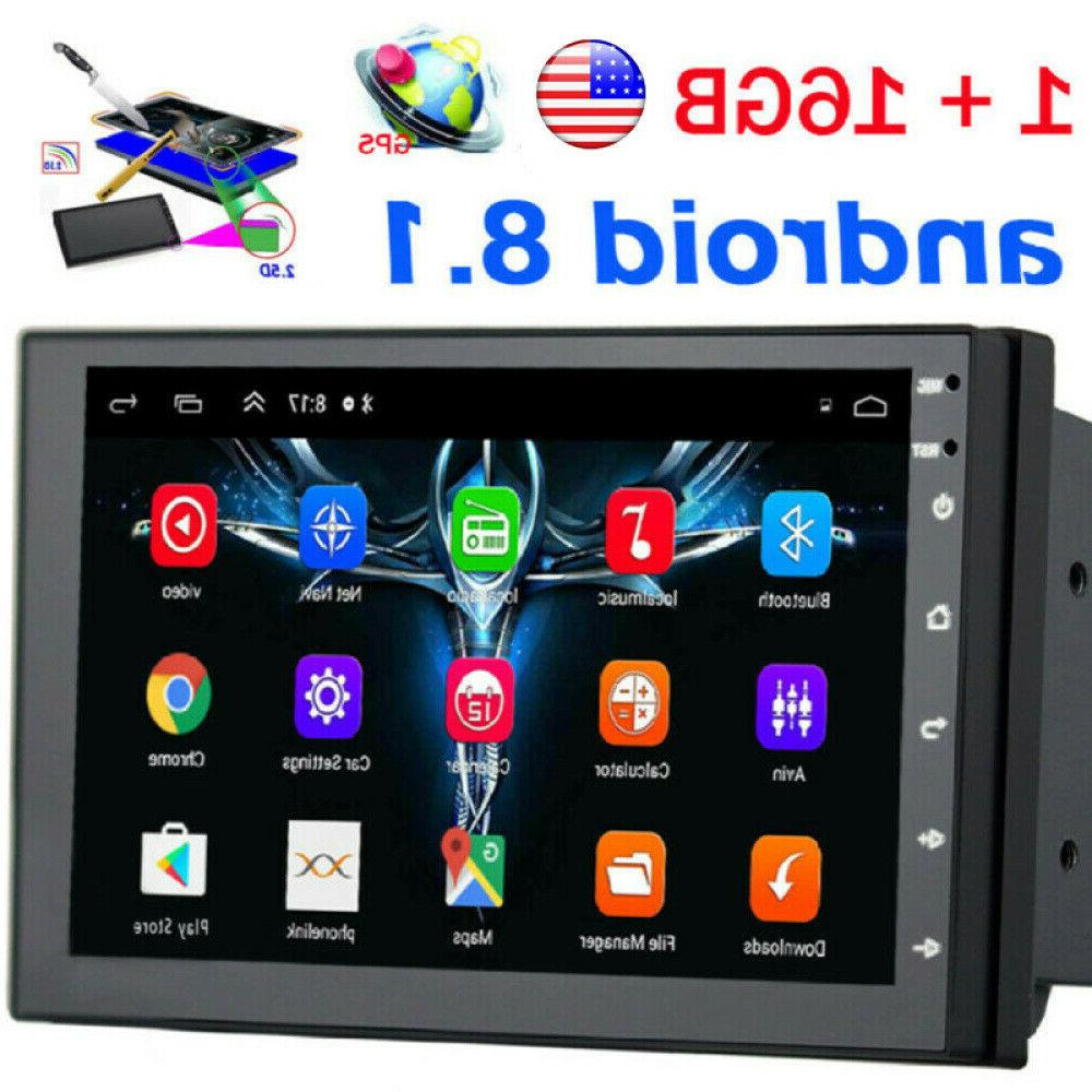 2din 7in android8 1 gps navigation wifi