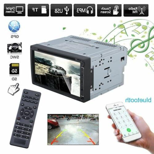 2DIN Car MP5 Touch Stereo USB/AUX