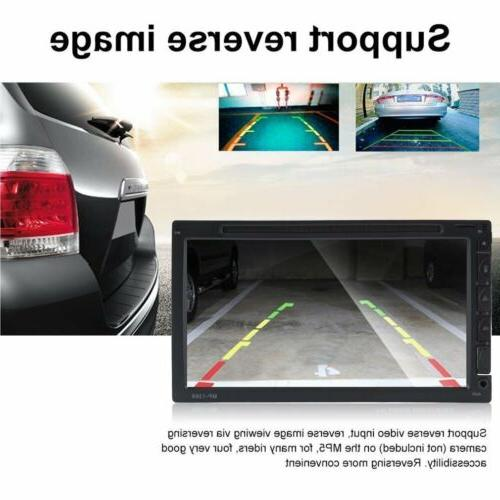 2DIN Car MP5 Player Bluetooth Touch Screen USB/AUX