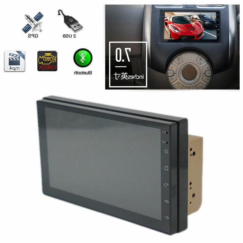 2DIN Android Radio Stereo Car MP5 Player