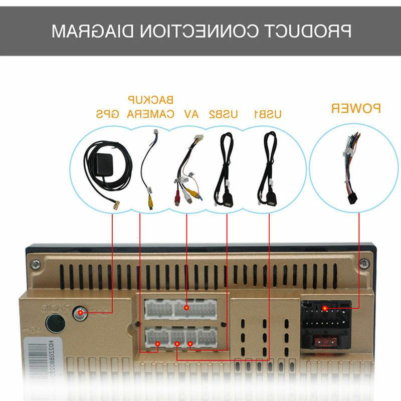 2DIN Radio Navigation Stereo Car Multimedia Player