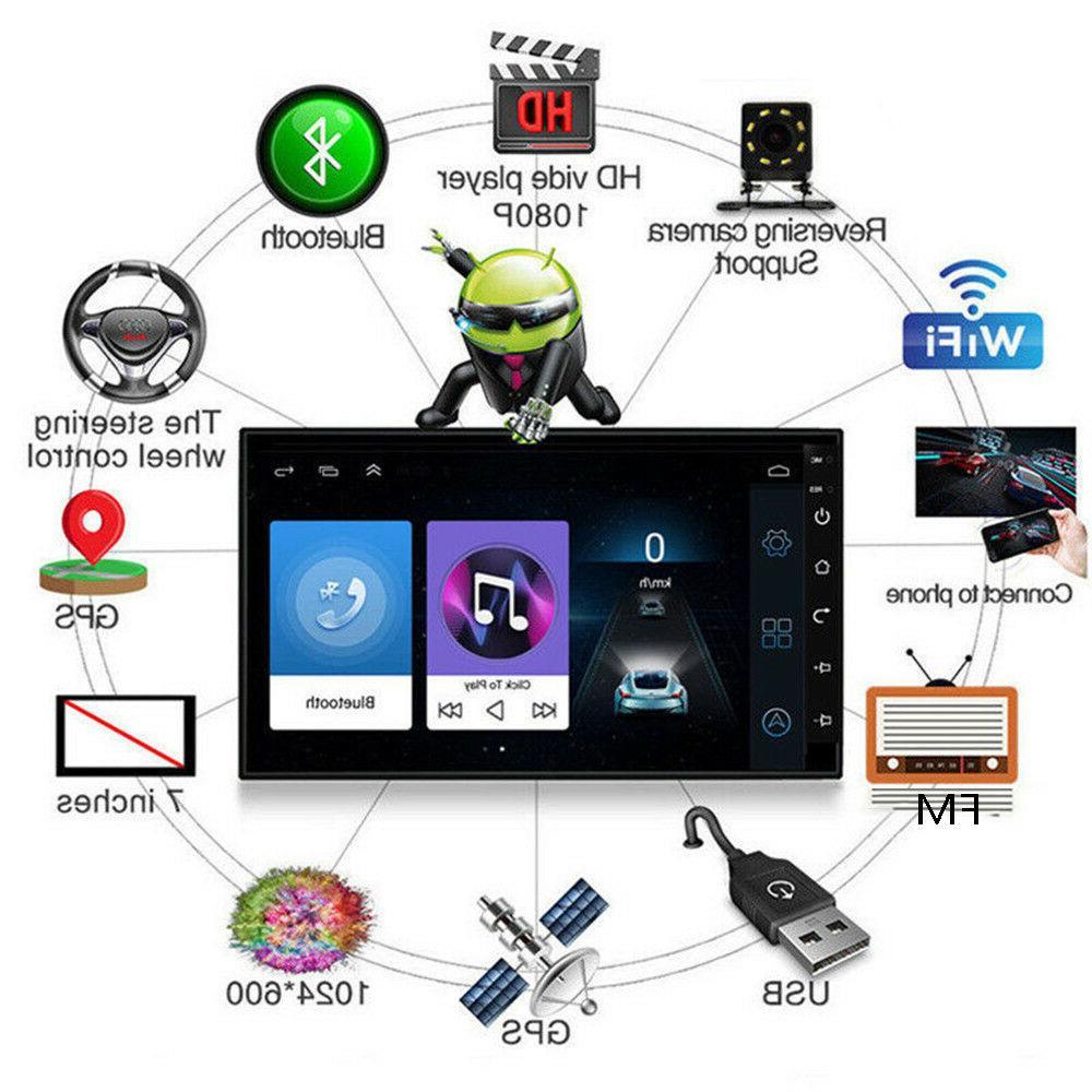 2DIN Android 8.1 Radio GPS Navigation Stereo Player