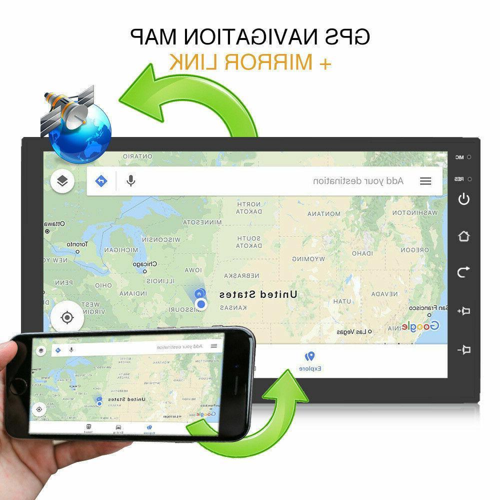 2DIN 8.1 Radio Navigation Audio Stereo Multimedia MP5 Player