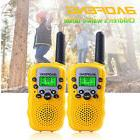 2x BF-T3 BAOFENG Yellow Walkie Talkie Two Way 0.5W Radio FRS
