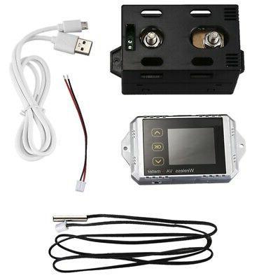 2X(Vat1300 100V Wireless Car Battery Monitor