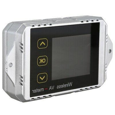 2X(Vat1300 100V Voltage And Current Car Battery Monitor
