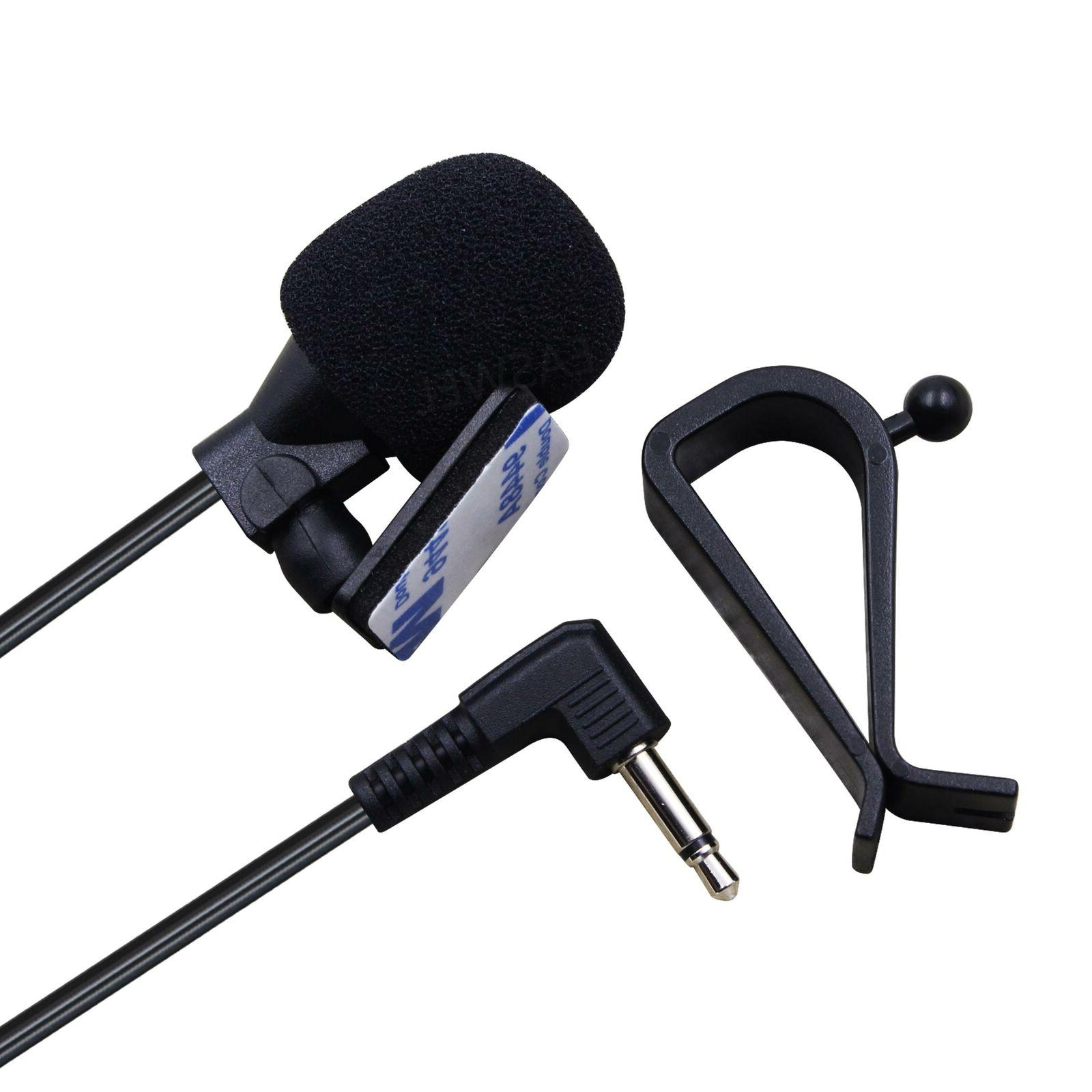 3.5mm Bluetooth Microphone Car Radio External Mic For JVC KW