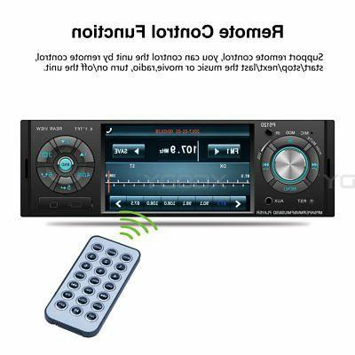 4.1 Car Radio Steering Bluetooth Camera
