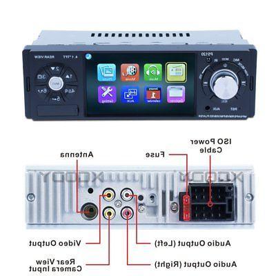 4.1 Car MP5 Radio Steering control Bluetooth USB Camera