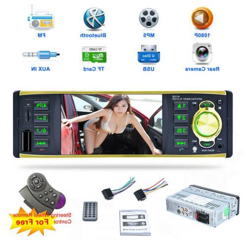 Car Radio Audio Media CD DVD HD Screen Bluetooth MP5 Player