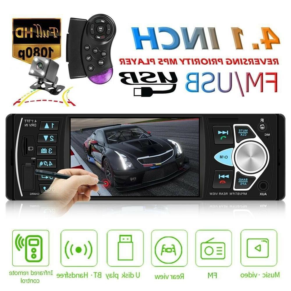 4 1 car radio 1din audio stereo