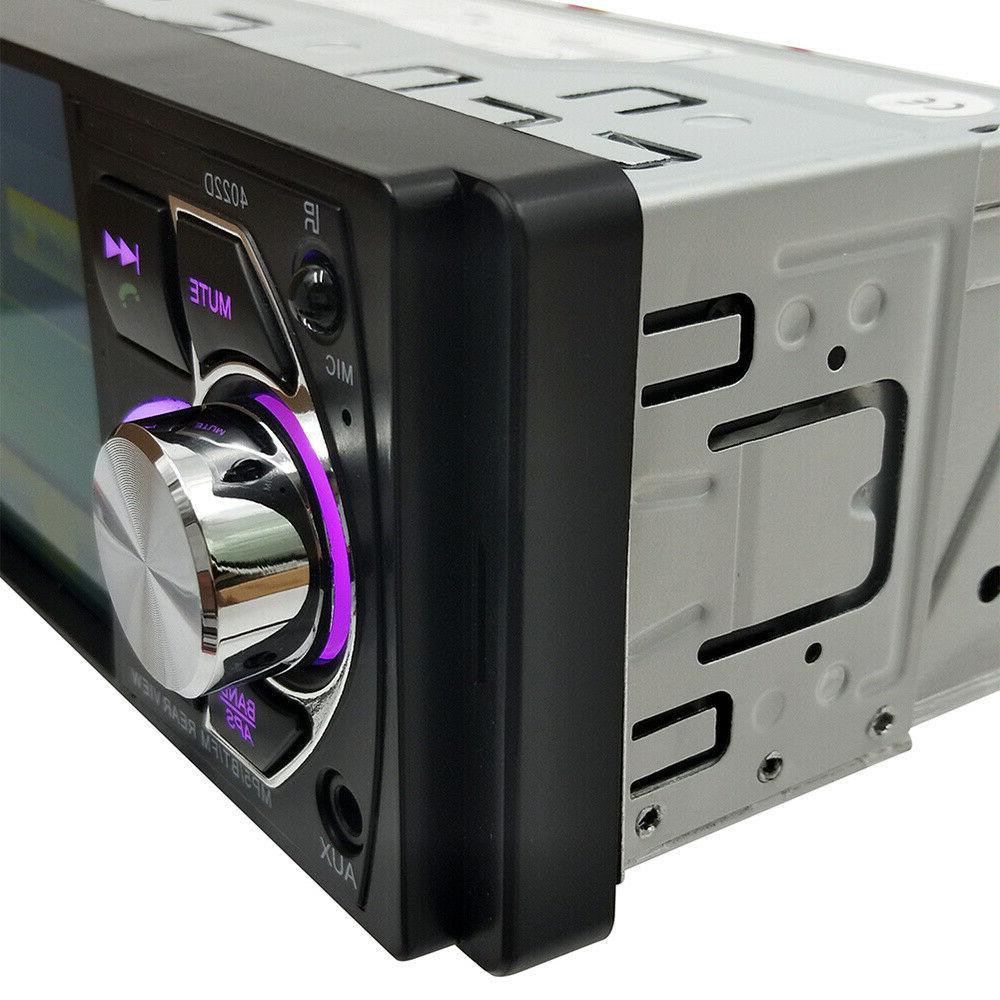 4.1'' Car Audio Stereo Wheel Remote