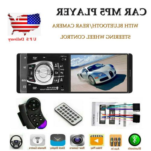 4 1 car radio stereo bluetooth fm
