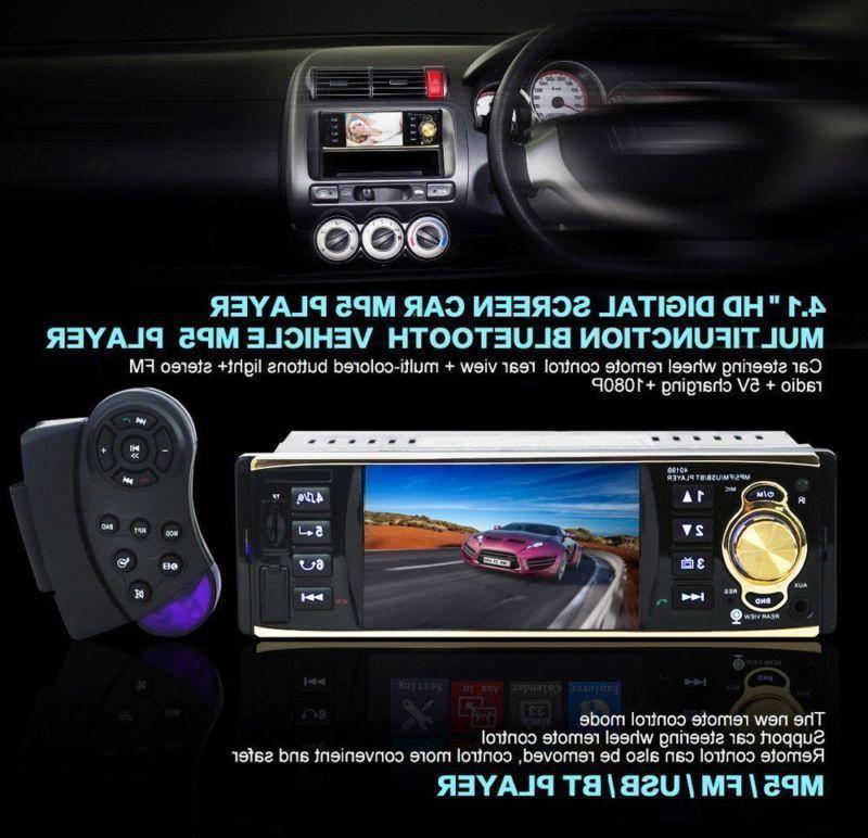 "4.1"" HD Stereo Player USB / TF UPS"