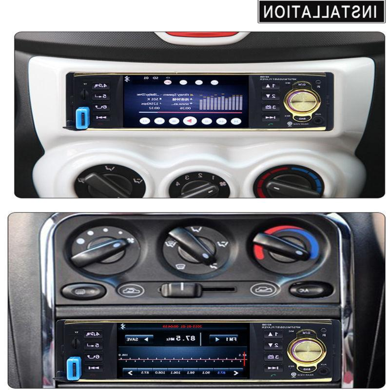 "4.1"" HD Car Stereo Player FM USB UPS"