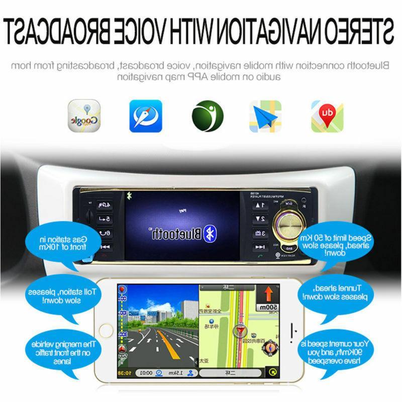 "4.1"" Car Stereo MP3 Player AM USB / AUX UPS"