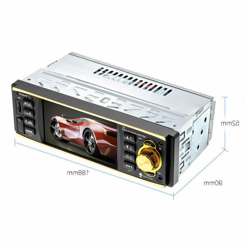 "4.1"" Car Stereo MP3 Player FM USB UPS"