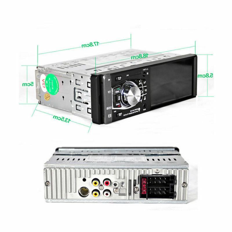 "4.1"" 1DIN Car Video MP5 Player BT AUX USB Camera"