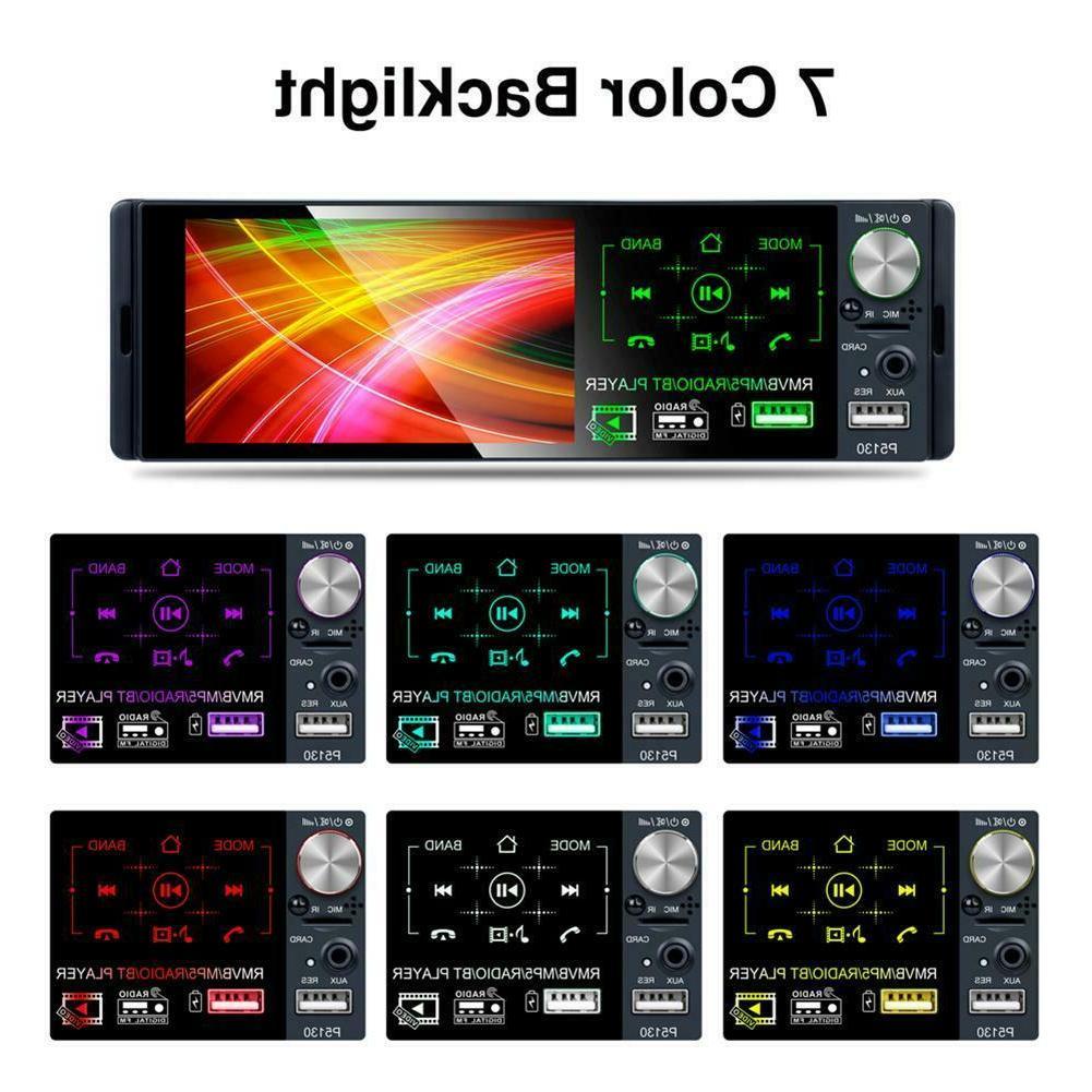 "4.1"" Single DIN Bluetooth Touch Radio+Camera"