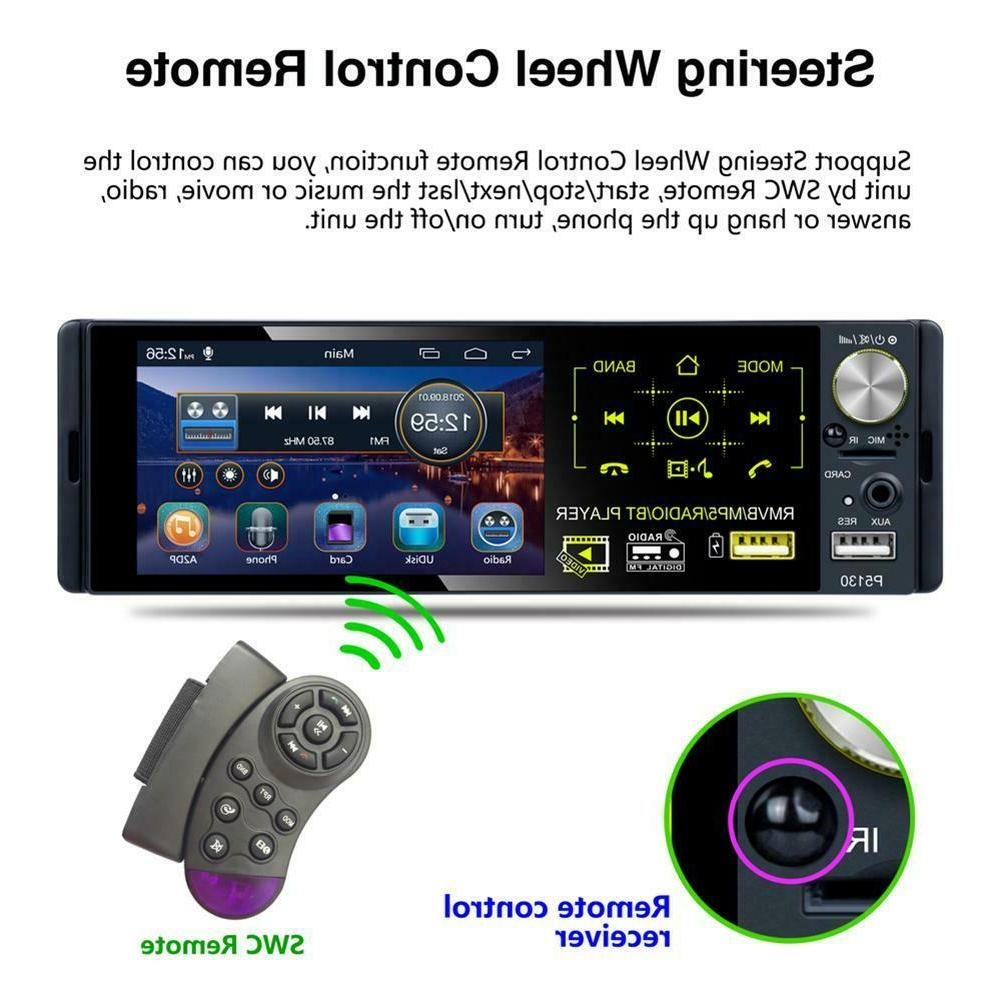 """4.1"""" DIN Car Bluetooth Touch Stereo Radio+Camera"""
