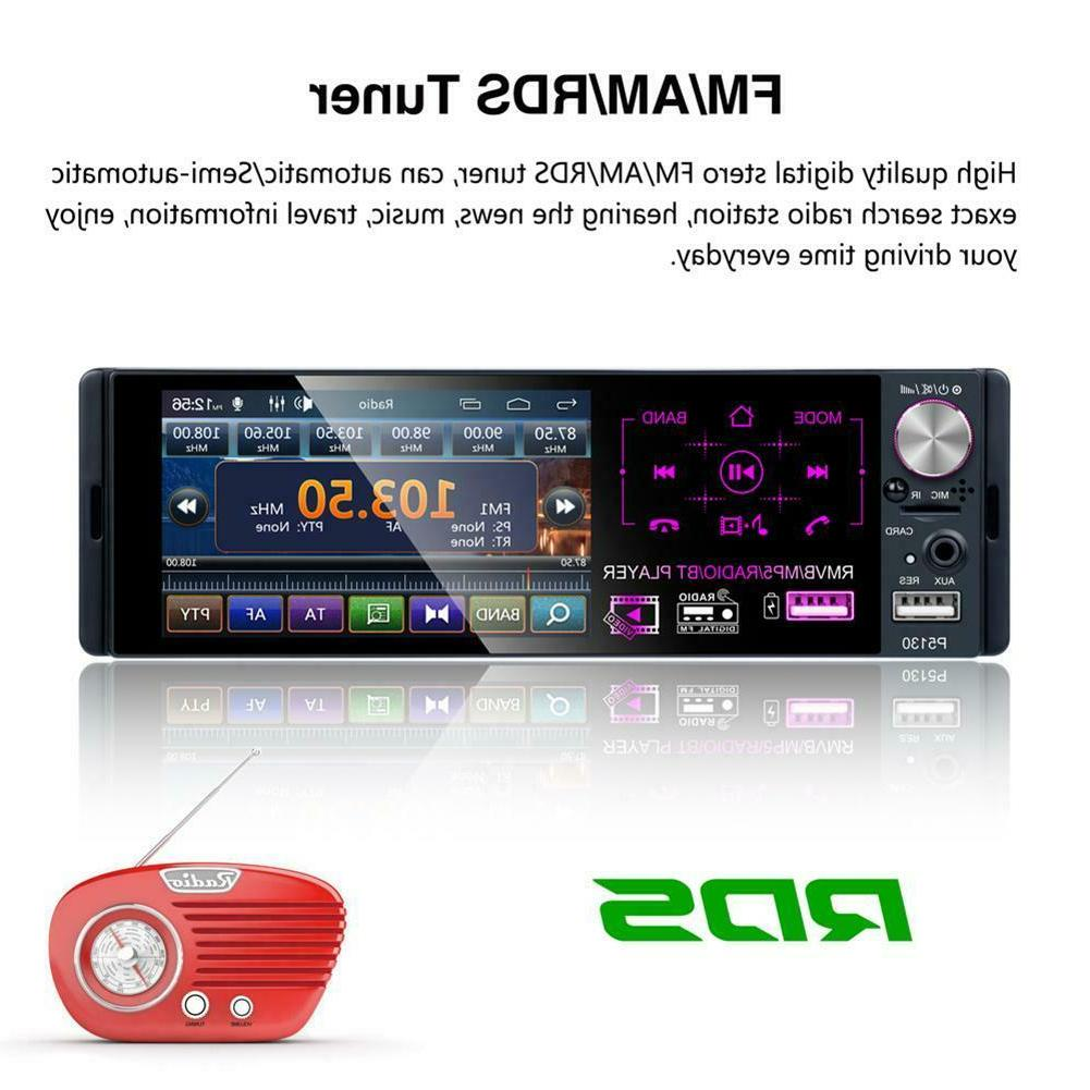 DIN Bluetooth Screen Radio+Camera