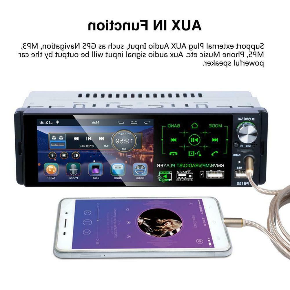 "4.1"" DIN Car Player Bluetooth Radio+Camera"