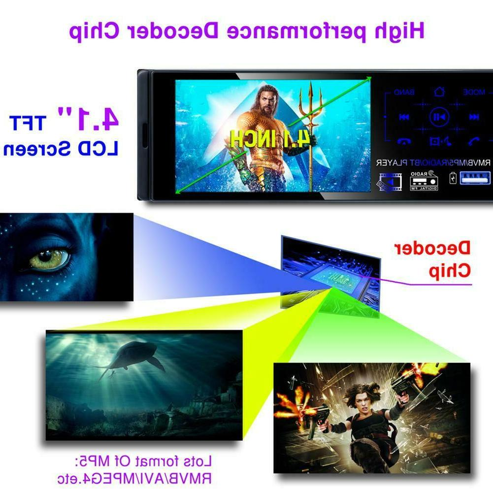 "4.1"" inch Bluetooth Touch Radio+Camera"
